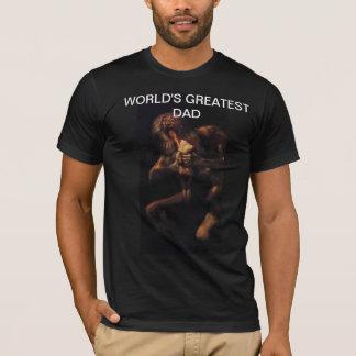 Chemise du papa du monde de Goya la plus grande T-shirt