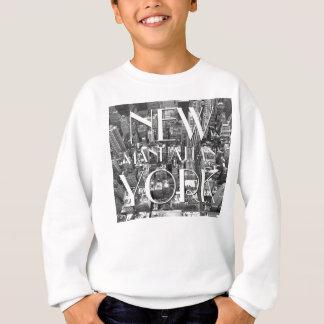 Chemise du souvenir de l'enfant du sweatshirt NYC