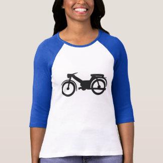 Chemise du vélomoteur des femmes t-shirt