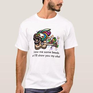 Chemise d'ukulélé de Mardis Gras T-shirt
