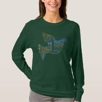 Chemise d'universel de colombe de paix t-shirt