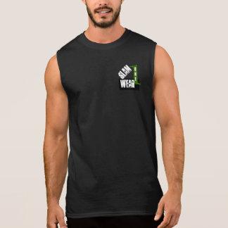 Chemise d'USAGE du CLAQUEMENT UN T-shirt Sans Manches