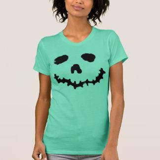 Chemise éffrayante de visage de goule de t-shirt