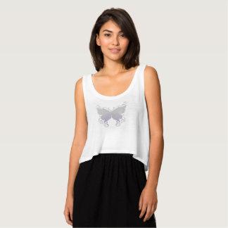Chemise en pastel de papillon débardeur