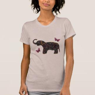Chemise exotique d'éléphant de bijou t-shirt