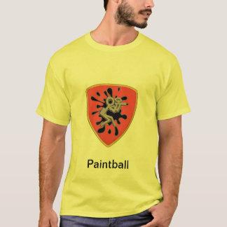 Chemise faite sur commande de Paintball T-shirt