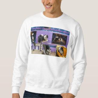 Chemise fantôme de collage sweatshirt