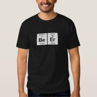 Chemise foncée de base de bière t-shirts