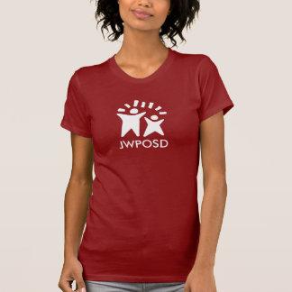 Chemise foncée de JWPOSD - rouge T-shirt