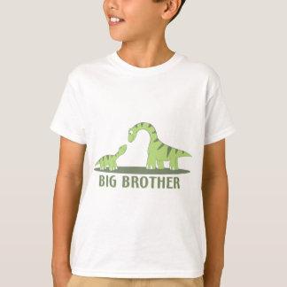 Chemise fraîche de frère - thème de dinosaure t-shirt