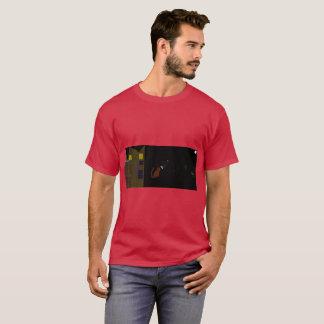 Chemise fraîche de Halloween de chat de gingembre T-shirt