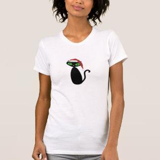 Chemise fraîche de Noël de chat T-shirt
