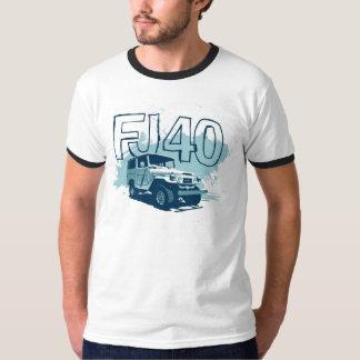 Chemise graphique turquoise de chemise de FJ40 T-shirt