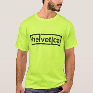 Chemise helvetica d'artiste ! t-shirt