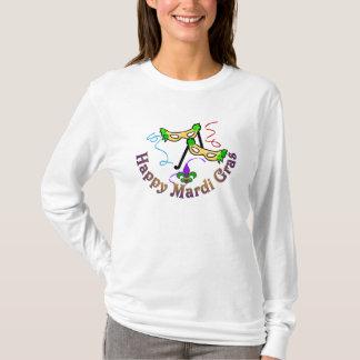 Chemise heureuse de mardi gras t-shirt