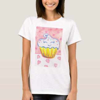 Chemise heureuse de petit gâteau t-shirt