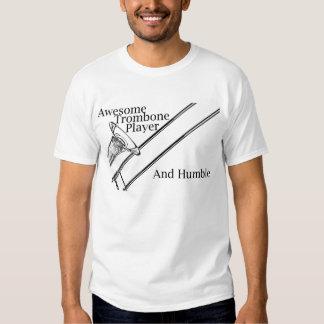 Chemise impressionnante de joueur de trombone t-shirt