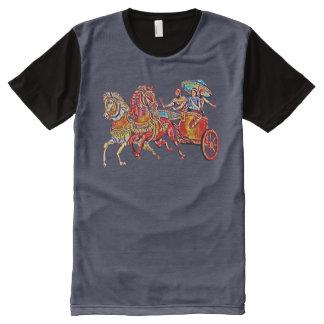 Chemise imprimée de Shamiram d'Assyrien partout T-shirt Tout Imprimé