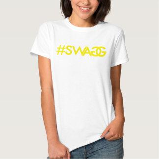Chemise (jaune) de Hashtag de butin T-shirts