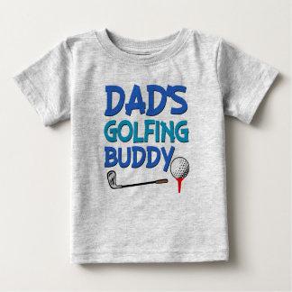 Chemise jouante au golf de bébé de l'ami du papa t-shirt pour bébé