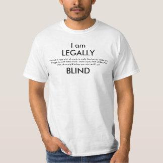 Chemise légalement aveugle 3 t-shirt