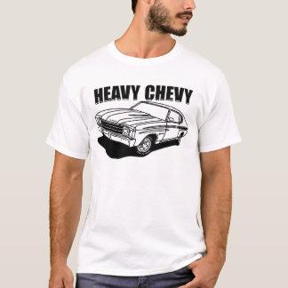 Chemise lourde de Chevelle Chevy T-shirt
