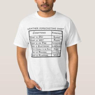 Chemise magique de prévision météorologique t-shirt