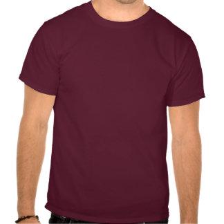 Chemise marron arrière brutale t-shirt