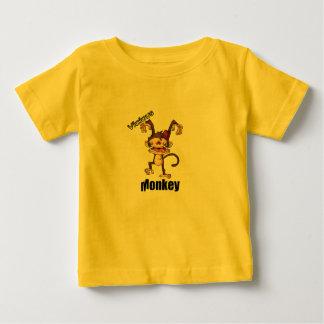 Chemise méchante de musique d'Allstar de singe T-shirt Pour Bébé