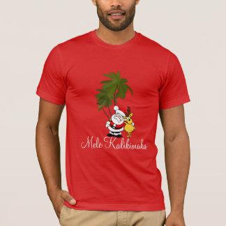 Chemise-Mele des vacances des hommes T-shirt