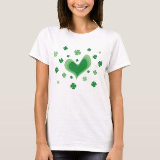 Chemise mignonne de Jour de la Saint Patrick avec T-shirt