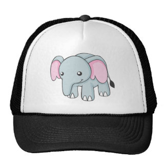 Chemise mignonne d'éléphant de bébé casquettes de camionneur