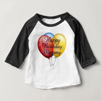 Chemise mignonne faite sur commande de bébé de t-shirt pour bébé