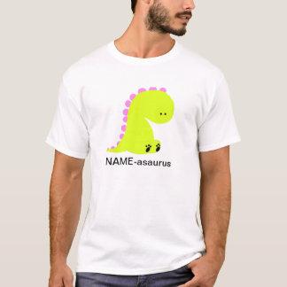 Chemise mignonne personnalisée de DINOSAURE T-shirt