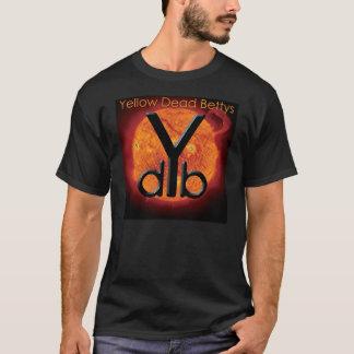Chemise morte jaune d'album de Bettys T-shirt