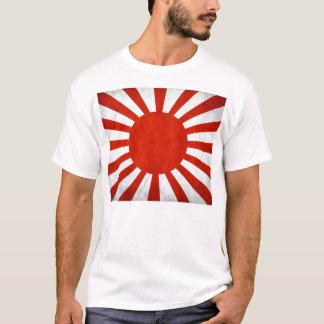 Chemise navale japonaise de drapeau t-shirt