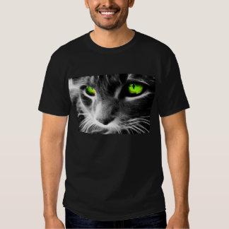Chemise noire avec les plots réflectorisés frais t-shirt