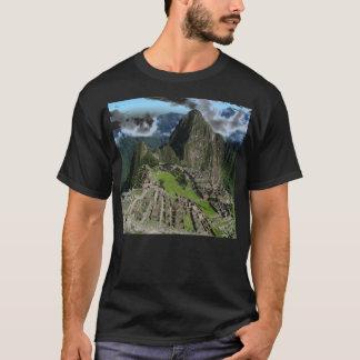 Chemise noire de Machu Picchu T-shirt