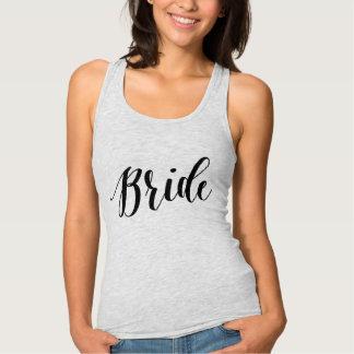 Chemise noire de manuscrit de jeune mariée t-shirts