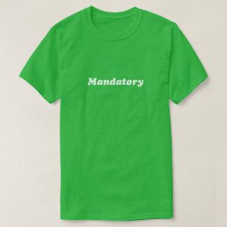 Chemise obligatoire t-shirt