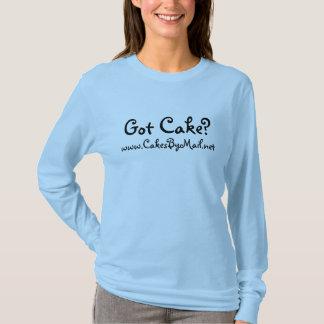 Chemise obtenue de gâteau - lettrage femelle t-shirt