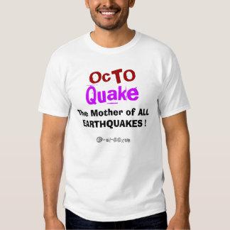 Chemise officielle de tremblement d'Octo T-shirts
