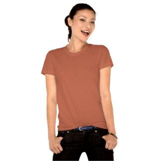 Chemise organique de New York des femmes de T-shirt