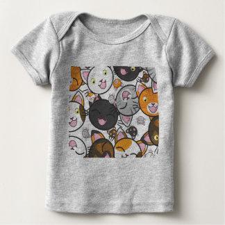 Chemise ou combinaison de bébé de Neko Nyan-Nyan T-shirt Pour Bébé