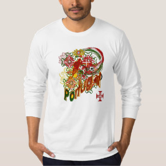 Chemise par des Joueurs de Football du Portugal T-shirt