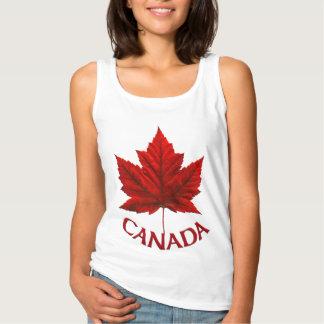 Chemise personnalisée par débardeur du Canada