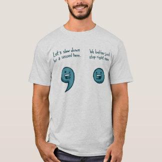 Chemise ponctuelle t-shirt