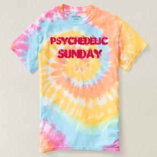 Chemise psychédélique de colorant de cravate de t-shirt