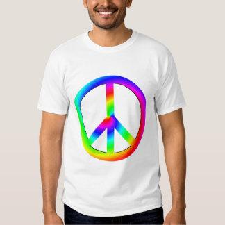 Chemise psychédélique de paix t-shirt