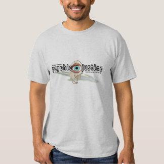 Chemise psychique de visite de juge t-shirts